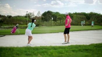 MasterCard TV Spot, 'Arnie Would' Featuring Annika Sorenstam, Ian Poulter