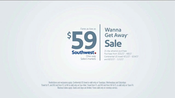 Southwest Airlines Wanna Get Away Sale TV Spot, 'Noblest Lady' - Thumbnail 9