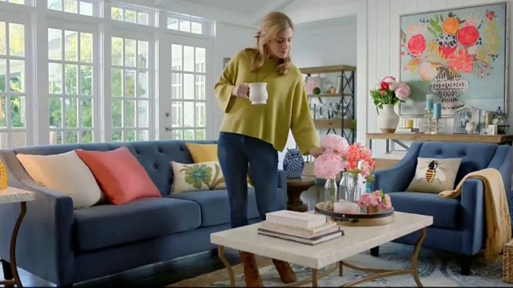 Pier 1 Imports TV Commercial Color Your Home Happy iSpottv