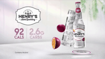 Henry's Hard Sparkling TV Spot, 'Passion Fruit' - Thumbnail 7