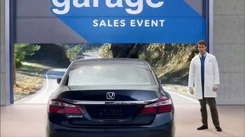 Honda Dream Garage Sales Event TV Spot, 'Scenic Route: Lease or APR'