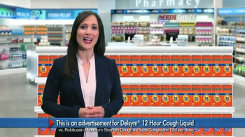 Delsym 12 Hour Cough Relief TV Spot, 'MediFacts'