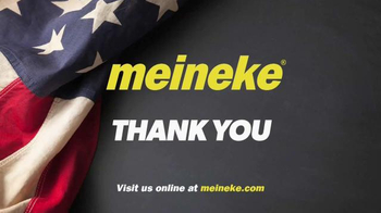 Meineke Oil Change >> Meineke Car Care Centers TV Commercial, 'Veterans Day ...