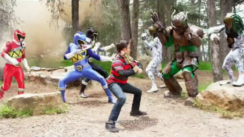 Power Rangers Dino Charge Dino Spike Battle Sword TV Spot, 'Charge it Up'