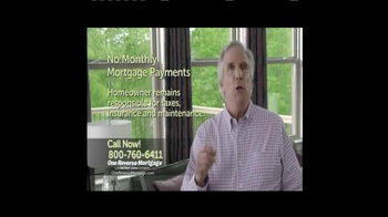 One Reverse Mortgage TV Spot, 'Five Years' Featuring Henry Winkler