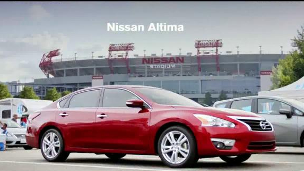 2015 Nissan Altima Tv Commercial Drive To The Game Song