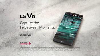 LG V10 TV Spot, 'In-Between Moments'