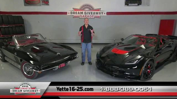 2016 Corvette Dream Giveaway TV Spot, \'Opportunity\'