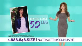 Nutrisystem Turbo10 TV Spot, 'It Happened' Ft. Marie Osmond, Dan Marino