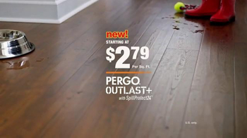 The Home Depot Pergo Outlast+ TV Spot, 'Fight Back' - Thumbnail 8