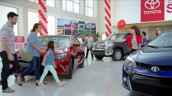 Toyota Time Sales Event TV Spot, 'Pit Stop: 2016 Prius' - 70 commercial airings