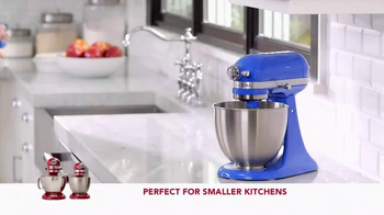 Kitchen Aid Artisan Mini Stand Mixer TV Spot, 'Powerful Performance'