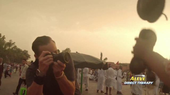 Aleve Direct Therapy TV Spot, 'Travel Photographer'