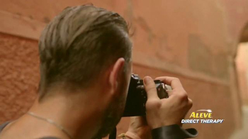 Aleve Direct Therapy TV Spot, 'Travel Photographer' - Thumbnail 5