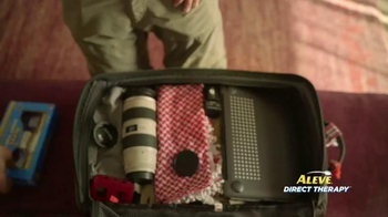 Aleve Direct Therapy TV Spot, 'Travel Photographer' - Thumbnail 7