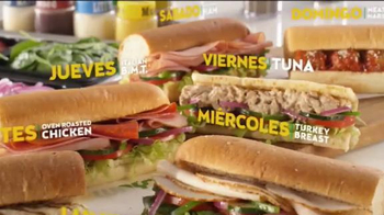 Subway $3.50 Sub del Dia TV Spot, 'Distintos' [Spanish]