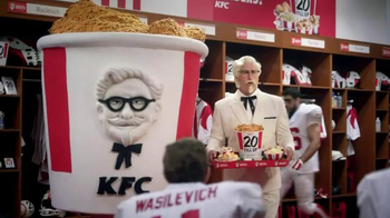 KFC $20 Fill Up TV Spot, 'Mascot' Featuring Rob Riggle