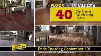 Lumber Liquidators TV Spot, '2016 Fall Floor Trends'