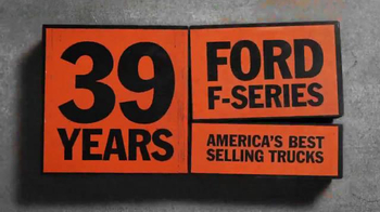 Ford F-Series TV Spot, '39 Years' - Thumbnail 9