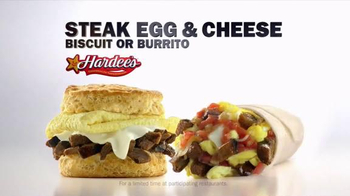Hardee's Steak Egg & Cheese Biscuit and Burrito TV Spot, 'Imperfection'