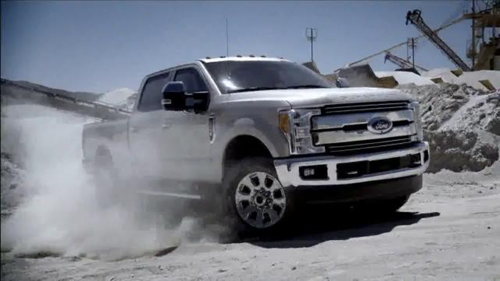 Ford FSeries TV Commercial Official Truck of the NFL  iSpottv