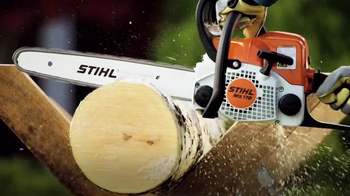 STIHL TV Commercial, 'MS 170 Chainsaw' - iSpot tv