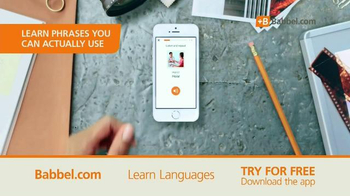 Babbel TV Spot, 'Phrases You Can Use'