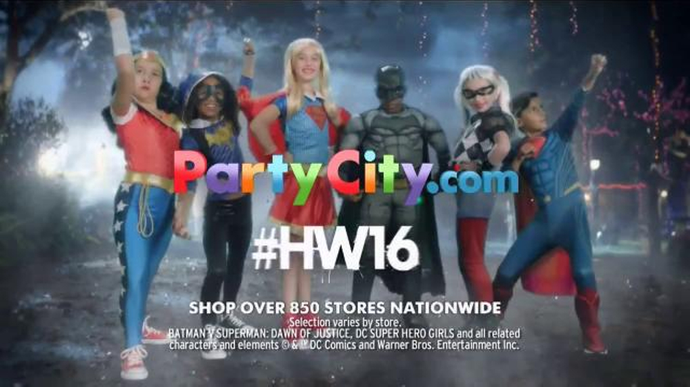 party city tv commercial thrillerize halloween dc superhero high costumes ispottv - All Halloween Costumes Party City