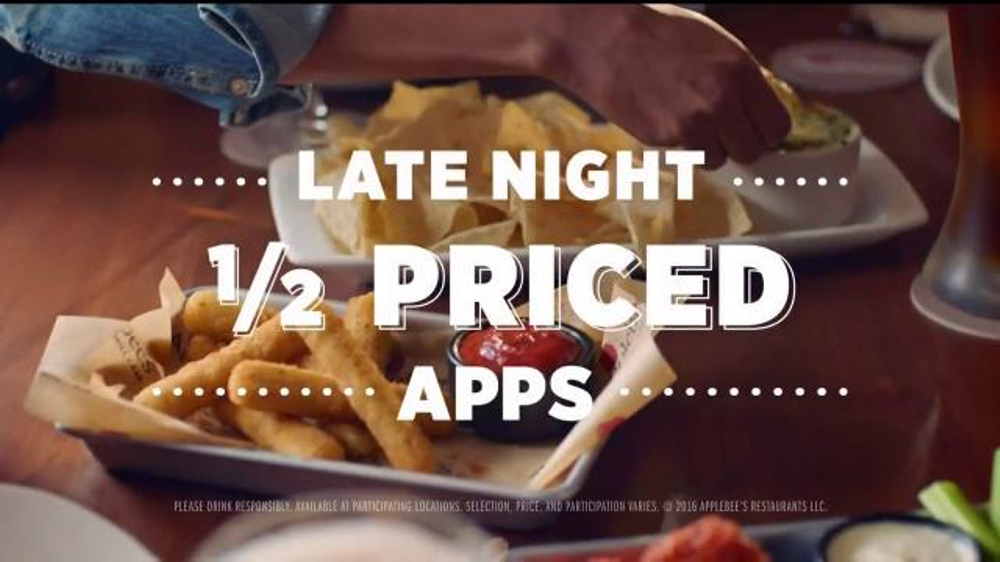 Enjoy 1/2 price appetizers after 10 p.m., 7 days a week!