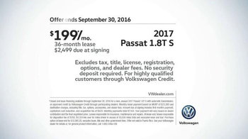 2017 Volkswagen Passat TV Spot, 'On the Road' Song by Willie Nelson - Thumbnail 9