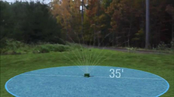 Sprinkler 360 TV Spot, 'Water Smart'