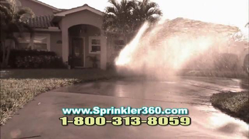 Sprinkler 360 TV Spot, 'Water Smart' - Thumbnail 4