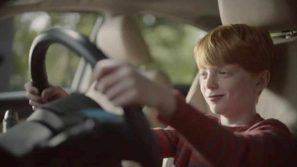 The Subaru commercial,
