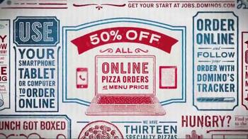 Domino's TV Spot, 'Fifty Percent'