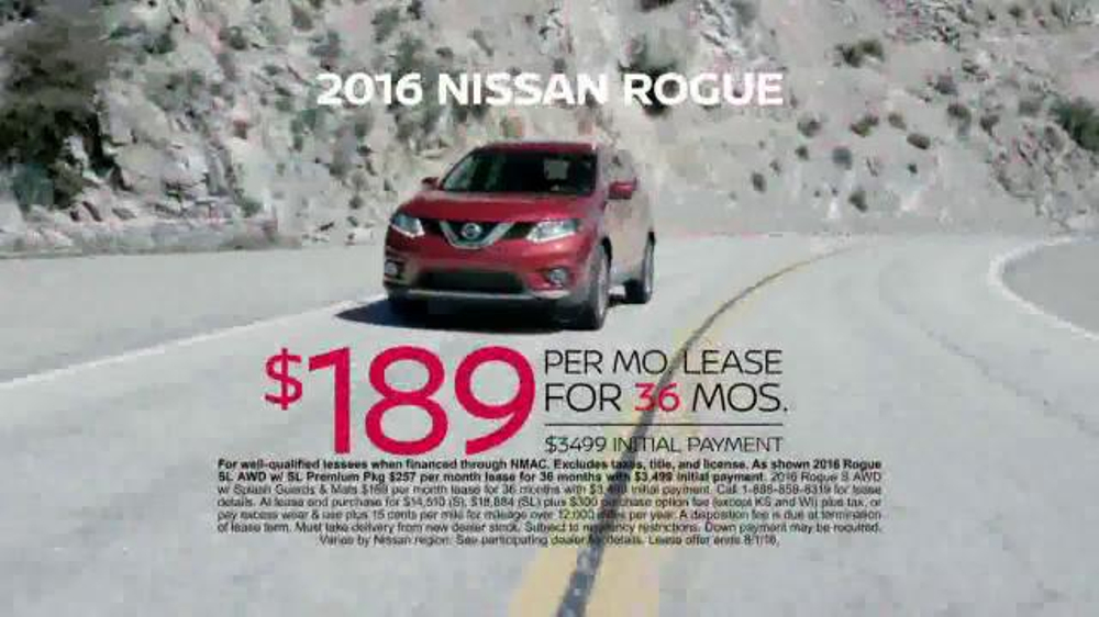 Nissan Zero In On Nissan Event Tv Commercial Now Is The