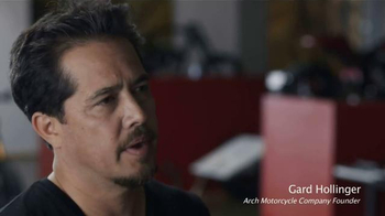 Arch Motorcycle Company KRGT-1 TV Spot, 'Build' Featuring Keanu Reeves - 5 commercial airings