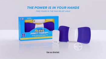Aleve Direct Therapy TV Spot, 'Lower Back Pain' - Thumbnail 10