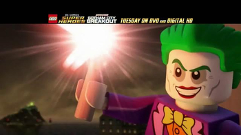 LEGO DC Comics Super Heroes: Justice League: Gotham City Breakout TV Spot