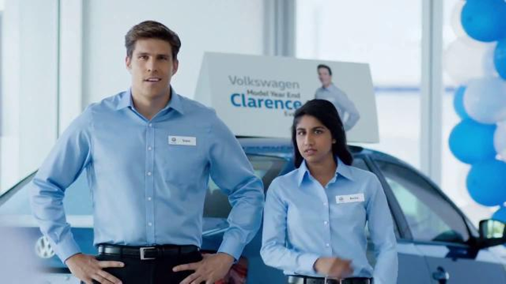 volkswagen model year  event tv commercial clarence song    ispottv