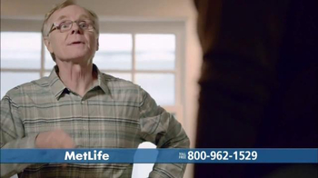 MetLife Guaranteed Acceptance Whole Life Insurance TV Spot, 'New Granddad'