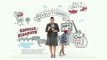 Capella University FlexPath TV Spot, 'MBA Program That Won't Slow You Down'