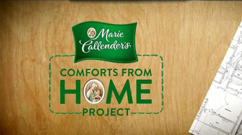 Marie Callender's TV Spot, 'TLC: Comforts from Home Project'