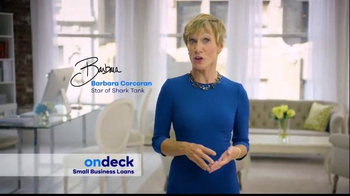OnDeck TV Spot, 'Need Capital' Featuring Barbara Corcoran