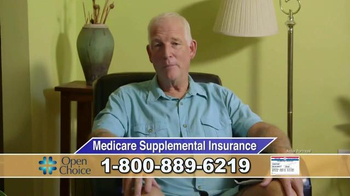 Open Choice Medicare Supplemental Insurance TV Spot, 'Growing Older'
