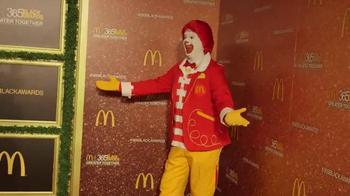 McDonald's TV Spot, '2016 365Black Awards' Featuring Charles Tillman