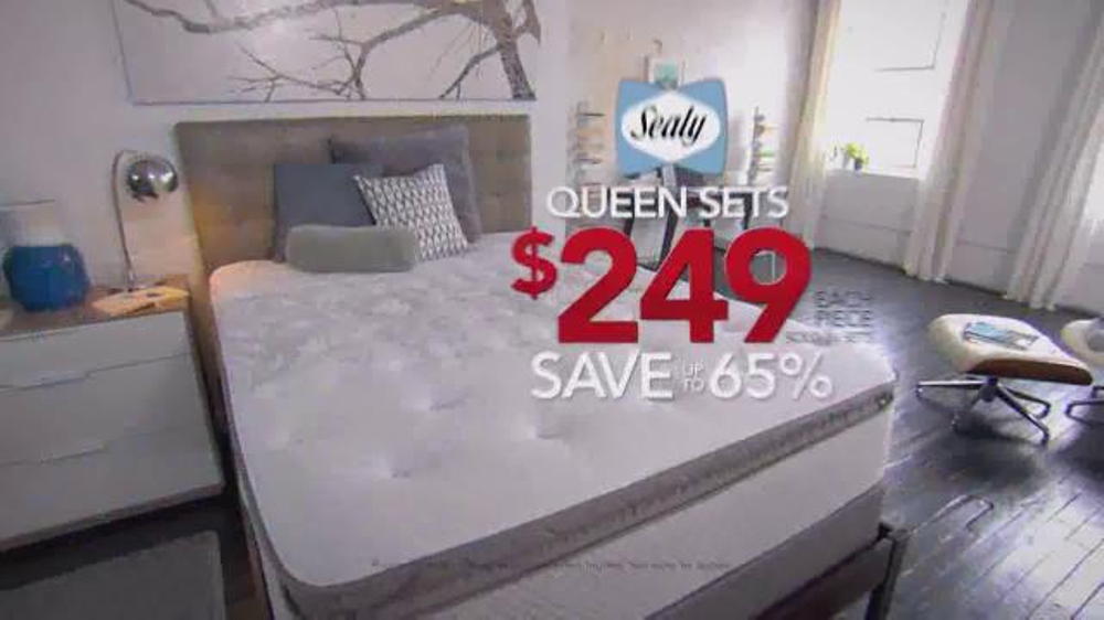columbus day sale tv commercial u0027nearly every mattress final daysu0027 ispottv - Sleepys Bed Frame