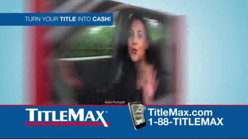 TitleMax TV Spot, 'Car & Title'