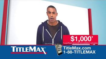 TitleMax TV Spot, 'Need It Now'