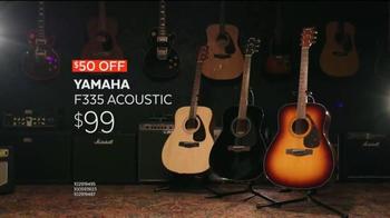 Guitar Center Guitar-A-Thon TV Spot, 'Yamaha Guitars'