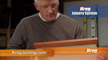 Kreg Joinery System TV Spot, 'Build Like the Pros'